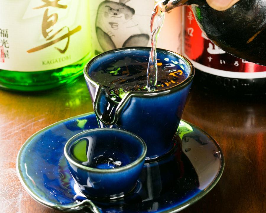 月替わりのおすすめ日本酒をお楽しみいただけます
